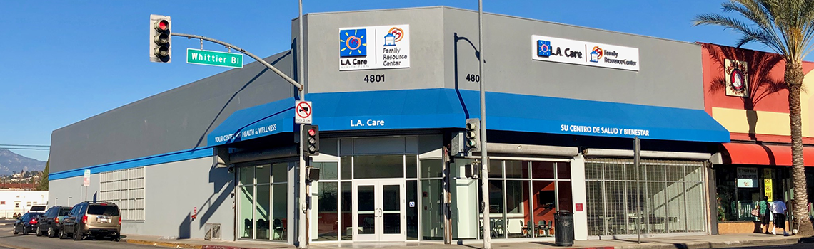 Outside of L.A. Care's New East L.A. Family Resource Center