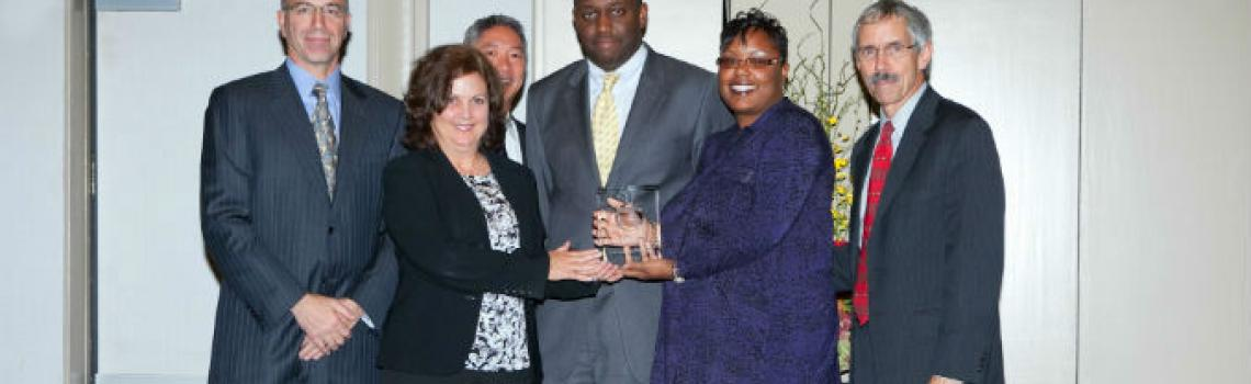 L.A. Care accepting NCQA award