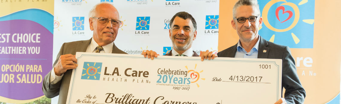 L.A. Care Commits $20 Million to Tackle Homelessness Crisis