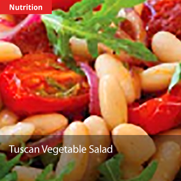 Tuscan Vegetable Salad