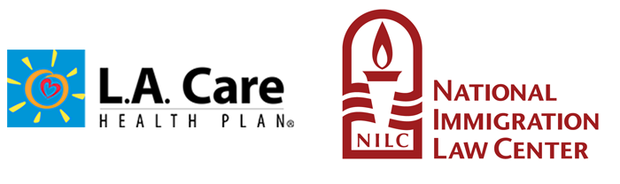 L.A. Care and National Immigration Law Center logos
