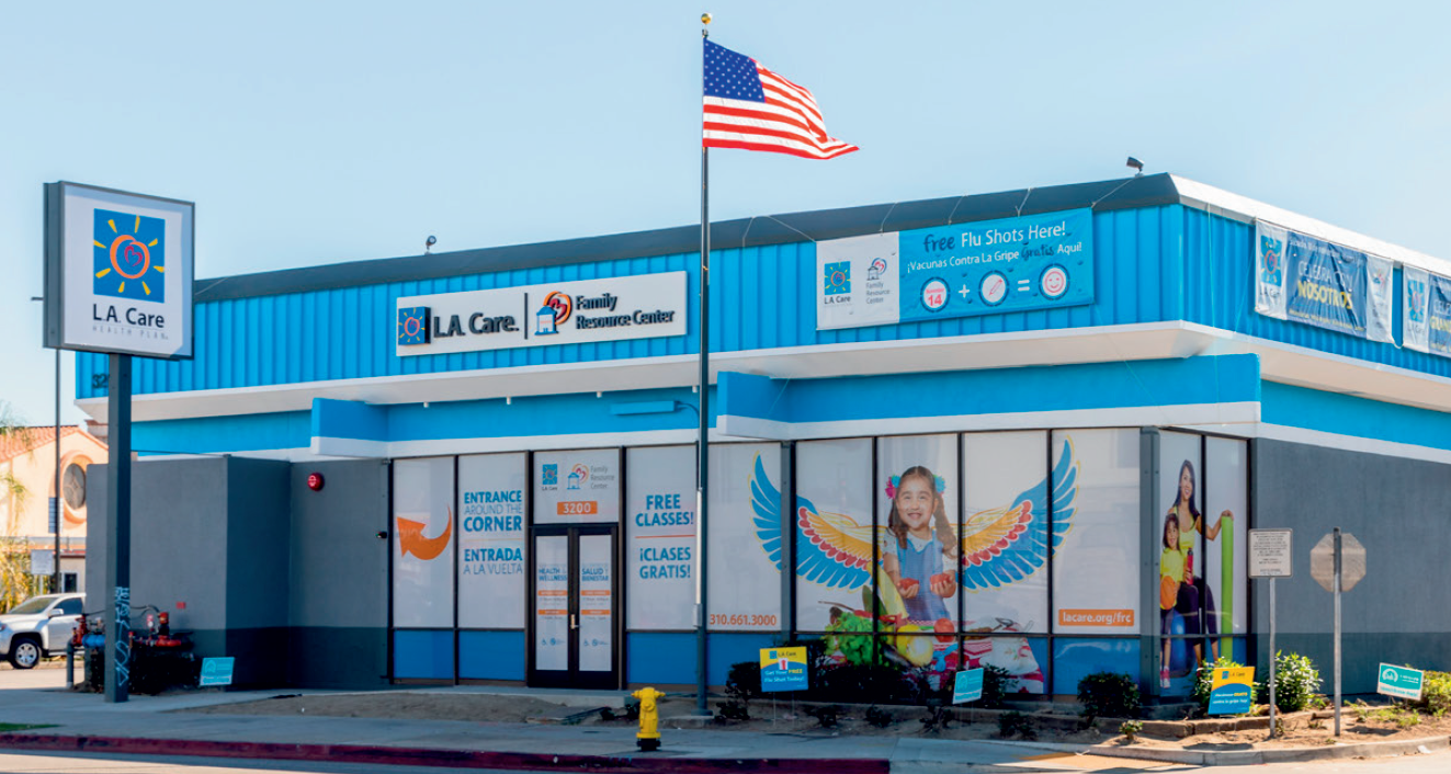 L.A. Care Family Resource Center building
