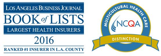 Los Angeles Busibness Journal and NCQA honors