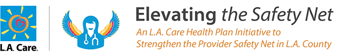 logo of L.A. Care and Elevating the Safety Net